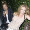 Kaley Cuoco Has A Girl's Night With Her Clumsy Friends