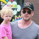 Eric Dane And His Daughter Go Shopping