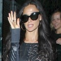Demi Moore Supports Daughter Rumer At Hollywood Performance