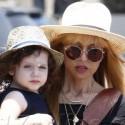 Rachel Zoe Goes Shopping With Son Skyler In Malibu