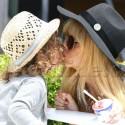 Rachel Zoe Kisses Son Skyler