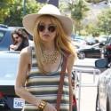 Rachel Zoe Hangs With Son Skyler In Malibu