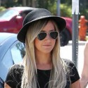 Ashley Tisdale And Chris French Go On A Lunch Date