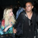Evan Ross Takes Ashlee Simpson To His Mom's Concert