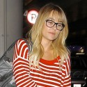 Lauren Conrad Lands At LAX