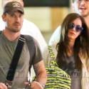 Megan Fox And Brian Austin Green Depart From LAX