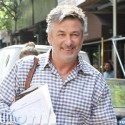 Alec Baldwin And Wife Hilaria Step Out With Baby Carmen