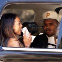 Chris Brown And Karrueche Tran Get Out Of Town