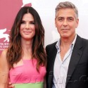 George Clooney And Sandra Bullock Couple Up On The Red Carpet
