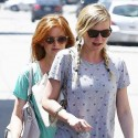 Isla Fisher And Kirsten Dunst Head To The Gym