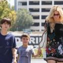 Brandi Glanville Takes Her Boys On A Shopping Spree