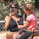 Halle Berry Takes Nahla Horseback Riding
