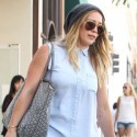 Hilary Duff Walks It Out With Her Little Man