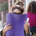 Vanessa Hudgens Gets Sneaky After Yoga