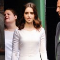 Lily Collins On Good Morning America