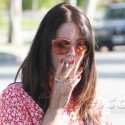 Lana Del Rey Smokes Up A Storm In Hollywood