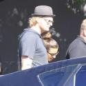 Lea Michele Is Still Wearing Her Cory Necklace