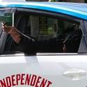 Lamar Odom Returns Home In A Taxi After D.U.I. Arrest