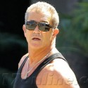 Mel Gibson Shows Off His Muscles After Hitting The Gym