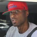 Lamar Odom Is In A Good Mood During Fast Food Run