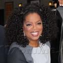 Oprah Winfrey Is All Smiles At <em>Letterman</em>