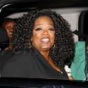 Oprah Winfrey Grabs Dinner In Hollywood