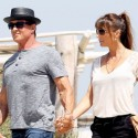 Sylvestor Stallone Vacations In St. Tropez