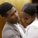 Usher & Tameka In Court