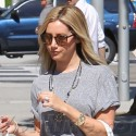 Ashley Tisdale Indulges In Some Retail Therapy