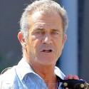 Mel Gibson Hits The Gym In Malibu