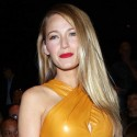 Blake Lively Attends The Gucci Fashion Show In Milan