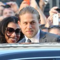 Charlie Hunnam Attends The <em>Sons Of Anarchy</em> Premiere