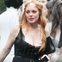 Lindsay Lohan Supports Her Little Sister