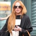 Lindsay Lohan Hits The Streets Of Soho