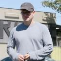 Matt Damon Grabs Lunch With His Wife