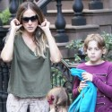 Sarah Jessica Parker Takes Her Children To The U.S. Open