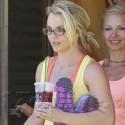 Britney Spears Leaves Her Dance Rehearsal