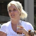 Britney Spears Lunches With Her Loves