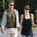 Gwen Stefani And Gavin Rossdale Hold Hands On Dog Walk