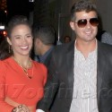 Robin Thicke And Wife Paula Hit The Town In NYC