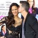 Robin Thicke And Paula Patton At The <em>Baggage Claim</em> Premiere