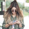 Vanessa Hudgens Spends The Day With Her Sister