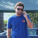 Brody Jenner Chats On His Phone In Malibu