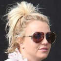 Britney Spears Stops By The Studio