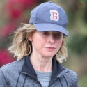 Calista Flockhart Goes For A Run
