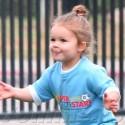 Harper Beckham Scores First Soccer Goal