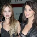 Eiza Gonzalez Parties With Brittny Gastineau