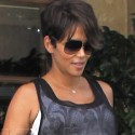 Very Pregnant Halle Berry Gets Dinner With Hubby Olivier Martinez