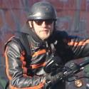 Charlie Hunnam Bikes To Work