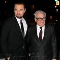 Leonardo DiCaprio And Martin Scorcese Attend Armani Show
